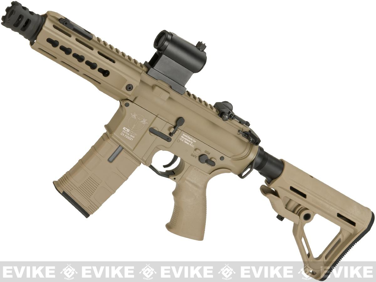 ICS CXP-UK1 Captain MTR M4 Airsoft AEG with Full Metal Receiver with MOSFET (Color: Tan)