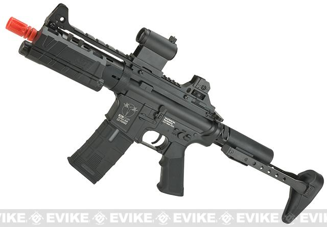 ICS Full Metal M4 CXP Concept Airsoft AEG Rifle - Black
