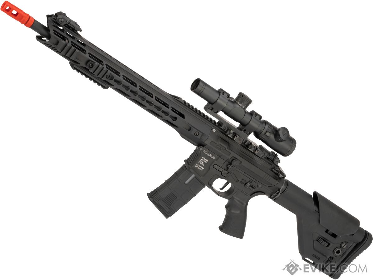 ICS CXP-MARS M4 Airsoft AEG w/ S3 Electronic Trigger (Model: Black / DMR)
