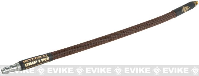 Amped Airsoft Grip Line For Wolverine SMP - Brown