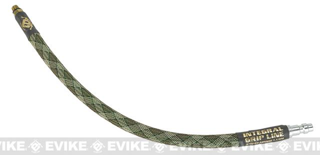 Amped Airsoft Grip Line For Wolverine SMP / JACK - Green Snake