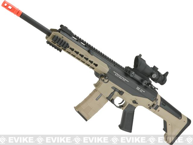 ICS Pro Line CXP-APE Carbine Electric Blowback Airsoft AEG Rifle (Color: Two Tone)