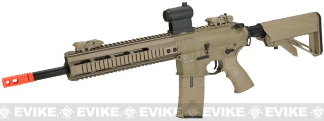 ICS PAR MK3 Carbine 14.5 Proarms Armory Licensed Proline EBB Airsoft AEG Rifle (Color: Tan)