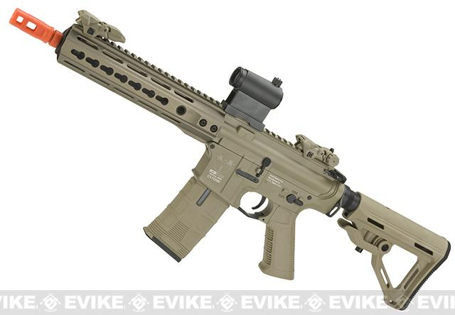 ICS CXP Pro Line Transform-4 264-1  Keymod Electric Blowback Airsoft AEG Rifle (Color: Tan)