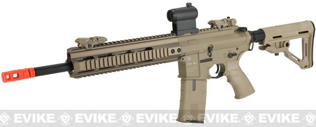 ICS PAR MK3 MTR 14.5 Proarms Armory Licensed Proline EBB Airsoft AEG Rifle (Color: Tan)