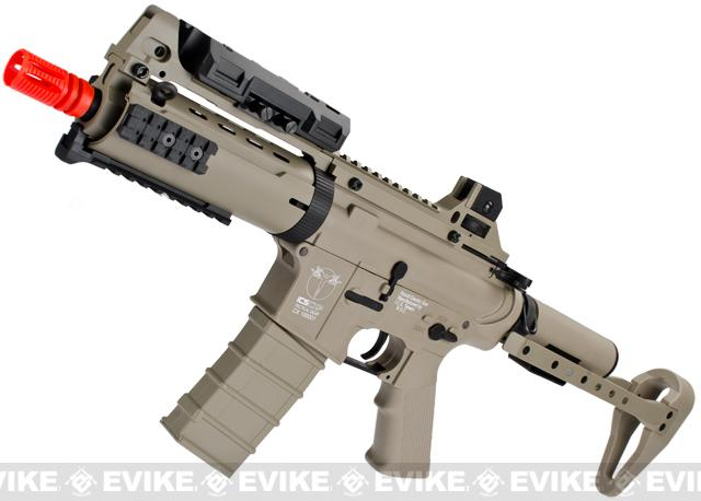 z ICS Sportsline CXP Concept Full Size M4 Airsoft AEG Rifle - Tan