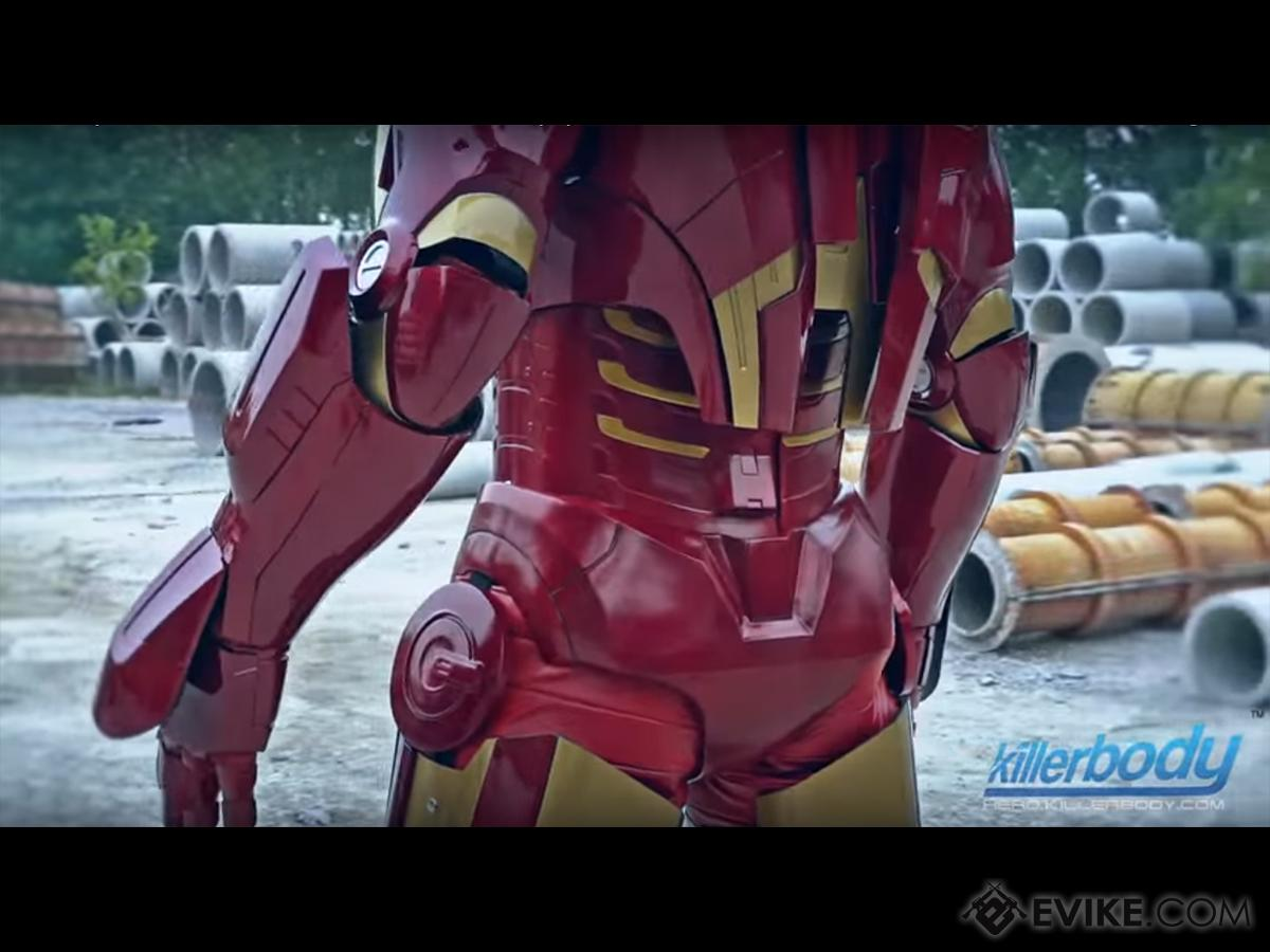 Killerbody Marvel Licensed Iron Man Mk  VII Motorized Wearable Suit w/  Working LED's & Sounds - Advanced, Limited Edition