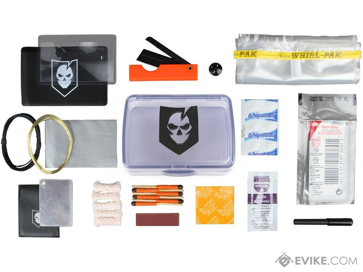 ITS Imminent Threat Solutions Mini Survival Kit (MSK) with Crushproof Case