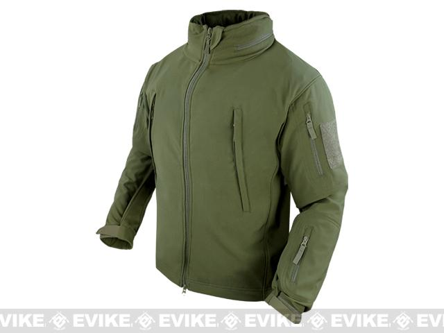 Condor Summit Tactical Softshell Jacket - OD Green (Size: Large)