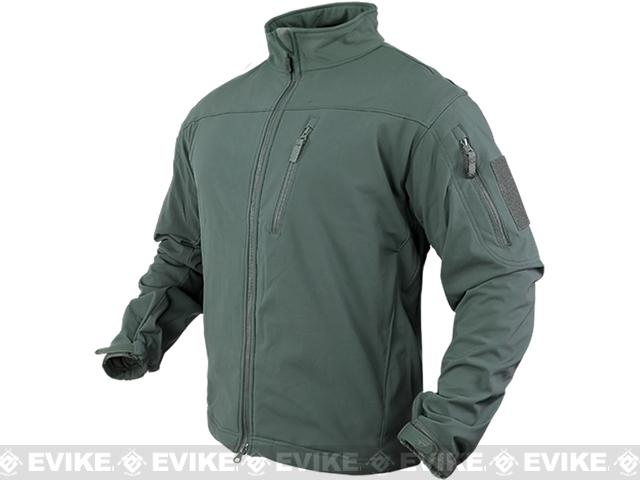 z Condor Tactical Phantom Soft Shell Jacket - Foliage Green (Size: Medium)