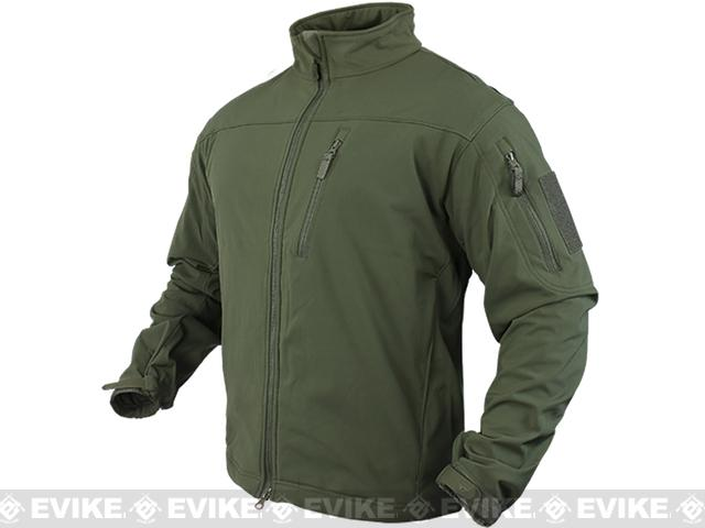 Condor Tactical Phantom Soft Shell Jacket - OD Green (Size: X-Large)