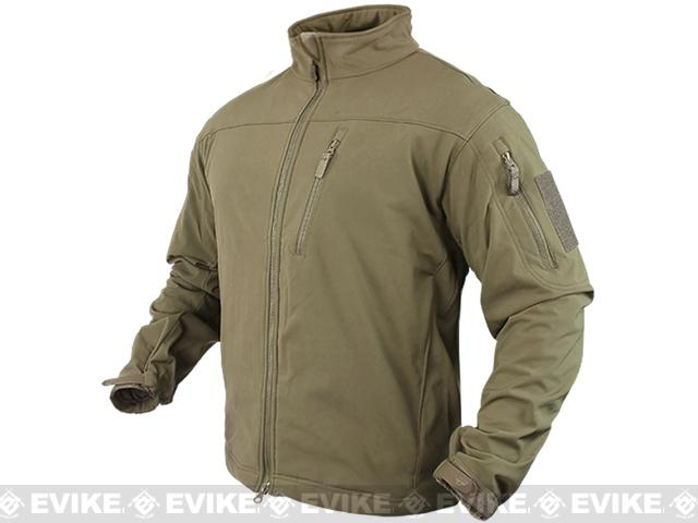 Condor Tactical Phantom Soft Shell Jacket - Tan (Size: Medium)