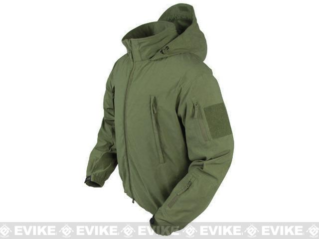 Condor Summit Zero Lightweight Soft Shell Jacket - OD Green (Size: Large)