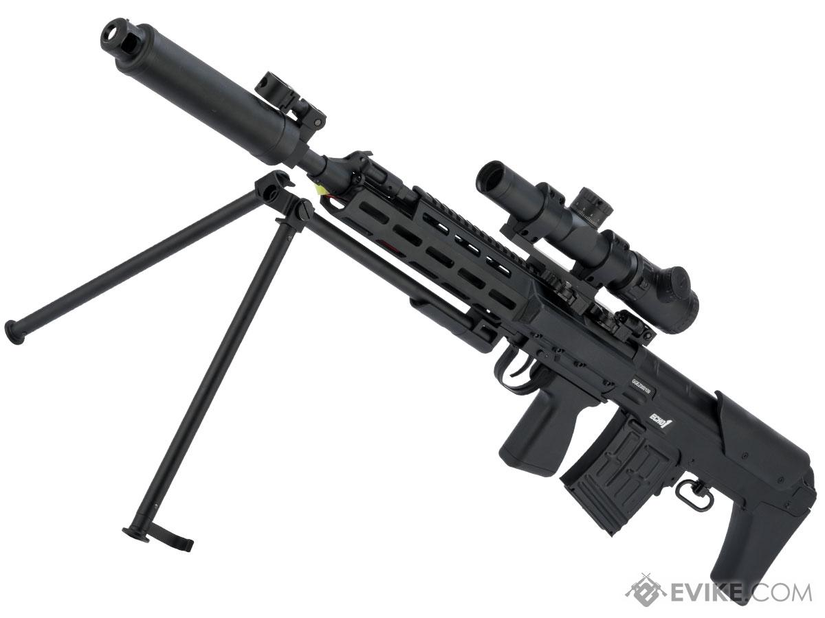 Echo1 Red Star CSR-A Wyvernov Semi-Only Airsoft Bullpup Sniper Rifle AEG with Integrated Bipod