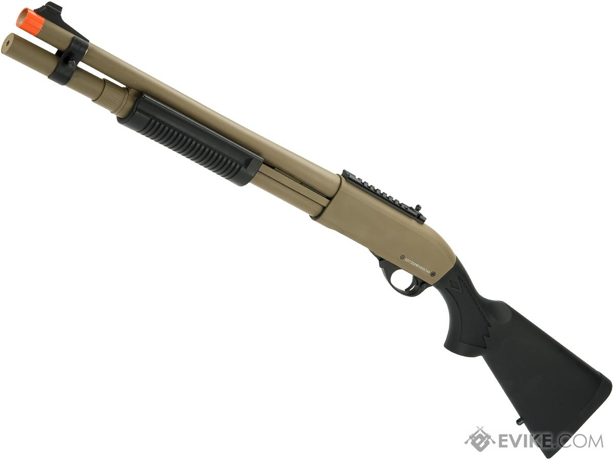 JAG Arms Gas Scattergun Airsoft Shotgun (Model: HDS / Tan)