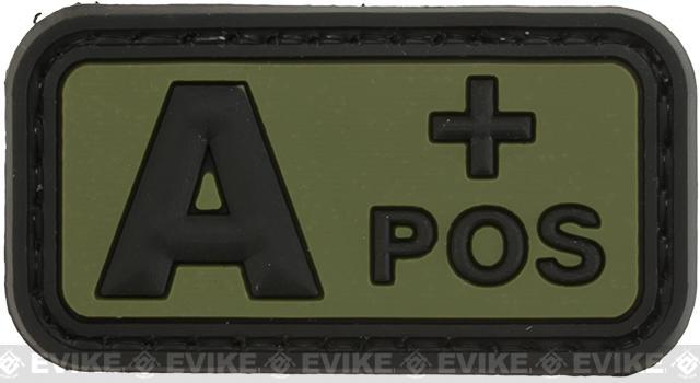A Postitive  PVC Patch - Green
