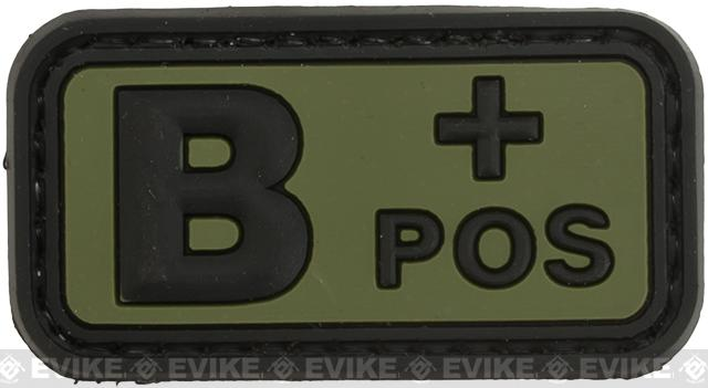 B  Positive PVC Patch - Green