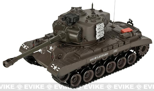 1:20 Scale RC Airsoft Battle Tank - Pershing (Brown)