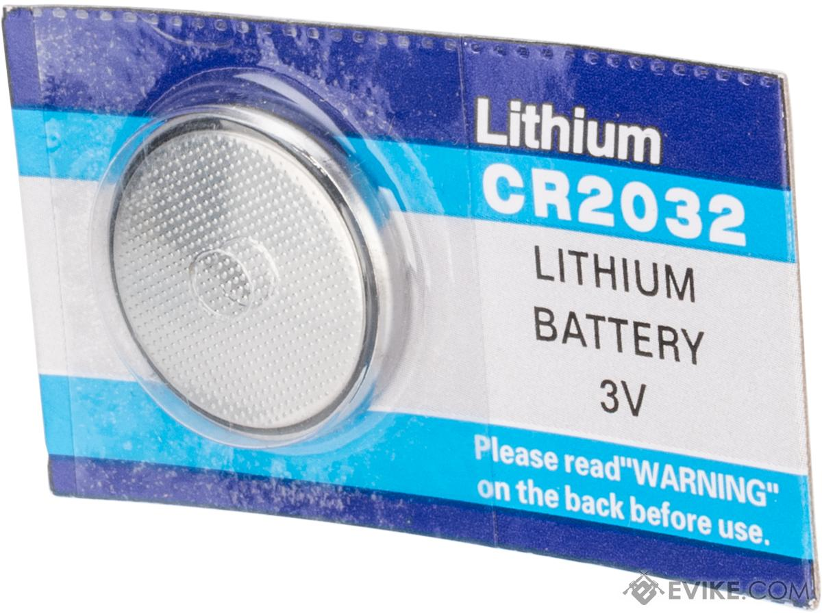 CR2032 3V Micro Lithium Battery (Package: 1 pcs)
