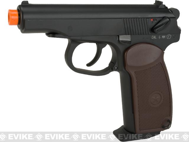 KWC CO2 Powered Makarov Blowback Airsoft  Pistol - Black