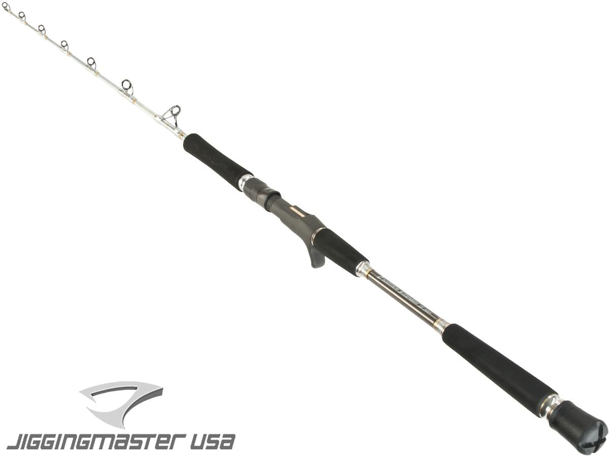 Jigging Master Evolution Titanium II Rod (Model: Conventional 400B Silver)
