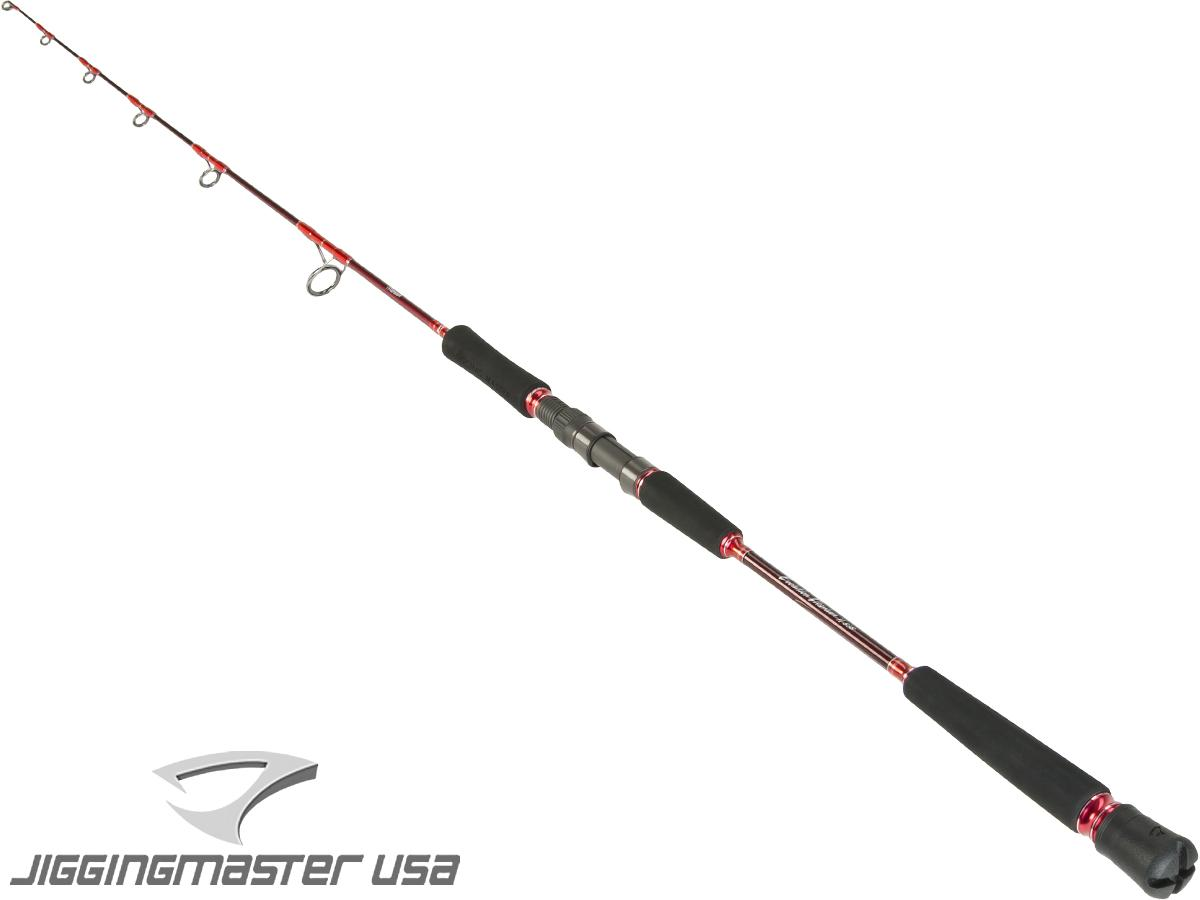 Jigging Master Evolution Titanium II Rod (Model: Spinning 200S Red)