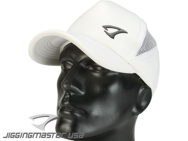 Jigging Master Extreme 3D Fishing Ball Cap (Color: White)