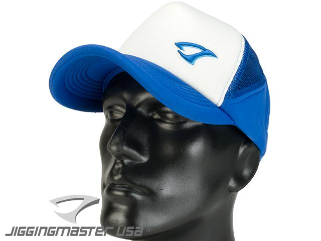 Jigging Master Extreme 3D Fishing Ball Cap (Color: White/Blue)
