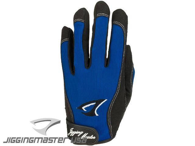 Jigging Master 3D Monster Game Glove - Blue (Size: Large)