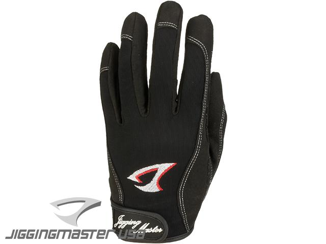 z Jigging Master 3D Monster Game Gloves - Black (Size: X-Large)