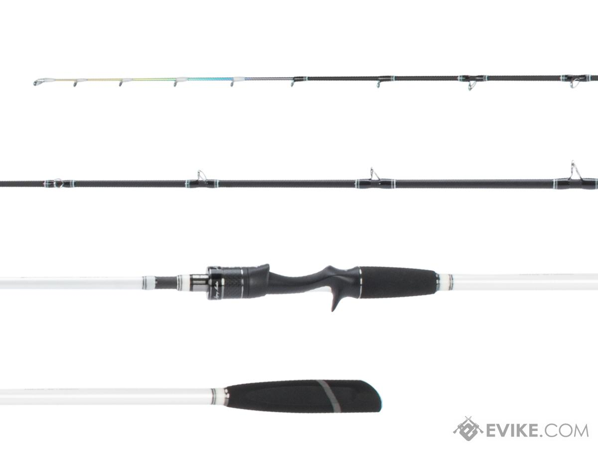 Jigging Master Devil Claws Tenya Premium Fishing Rod (Model: 6'3 / White)