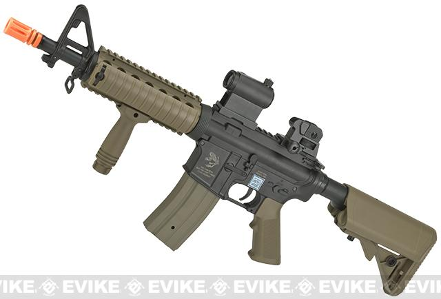 Echo1 M4 ST6 Full Size Airsoft AEG Rifle (Color: Dark Earth)