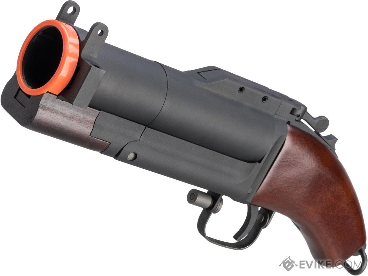 King Arms M79 Airsoft Grenade Launcher (Type: Sawed Off / Real Wood)