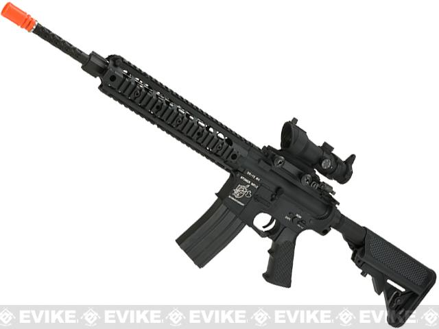 Knights Armament Airsoft URX2 SR16 Airsoft AEG - High Speed Edition (Package: Add Battery + Charger)