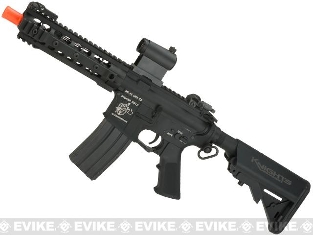 Pre-Order ETA December 2017 Knights Armament Airsoft M4A1 URX3 CQB Airsoft AEG - Black (Package: Add Battery + Charger)
