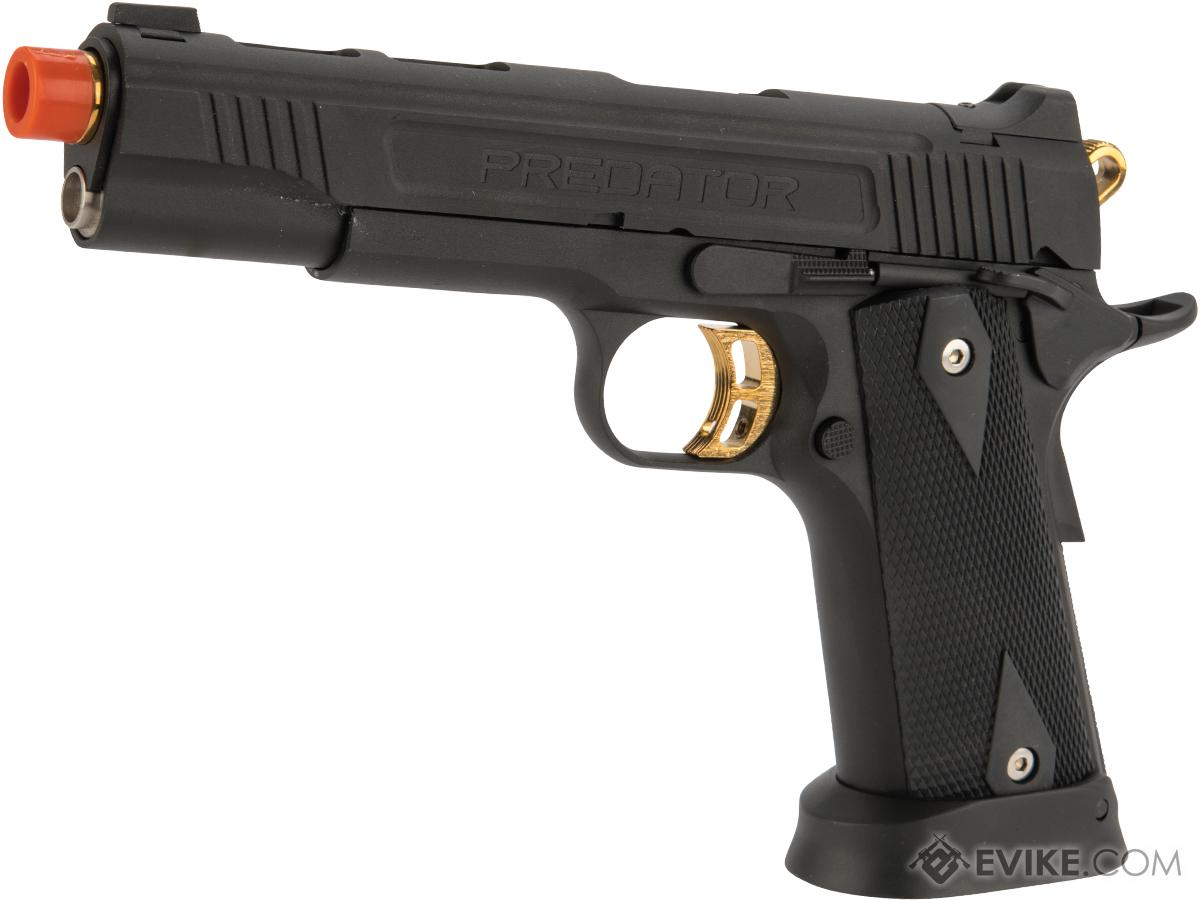 Predator Tactical Iron Shrike Gas Blowback 1911 Pistol by King Arms (Color: Custom I / Gas)