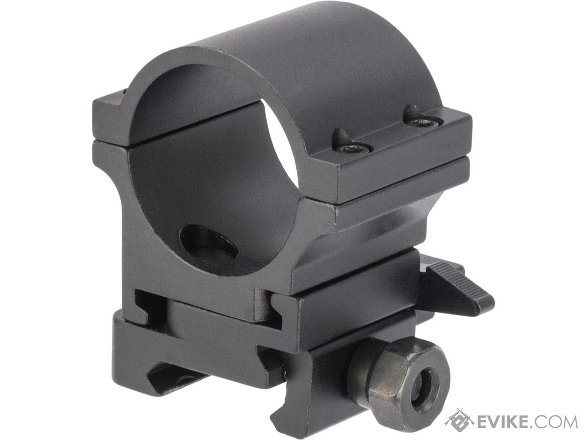 G&P 30mm Quick-Lock QD Twist Mount for Magnifier Scopes