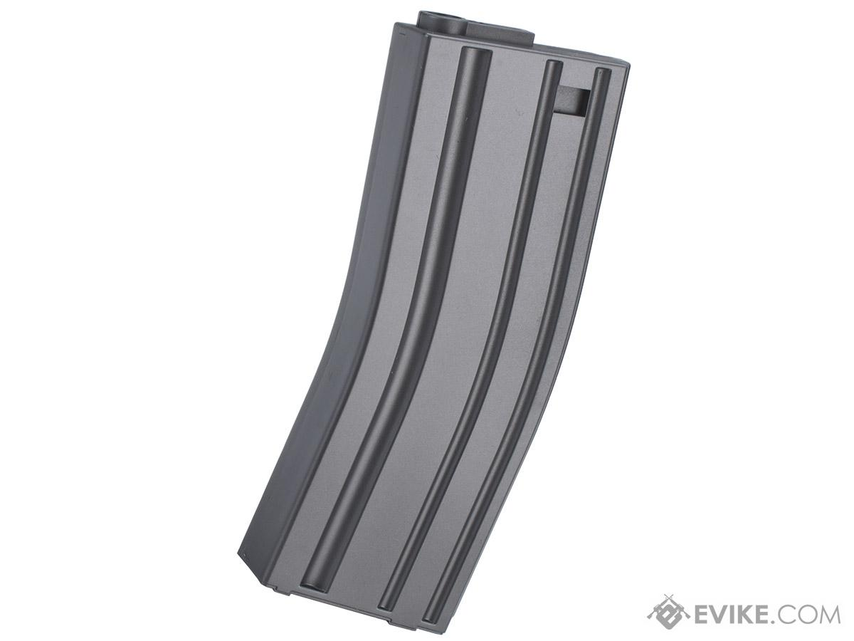 MAG 130rd Midcap Magazine for M4 / M16 Series Airsoft AEG Rifles  (Color: Grey / One)