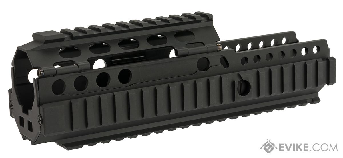 Matrix Full Metal Railed Handguard for L85A1 / R85A1 Airsoft AEGs - Black