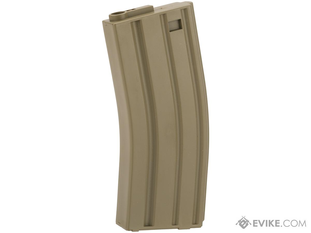 King Arms 120 Round Mid-Cap M4/M16 AEG Magazine (Color: Desert / Single magazine)