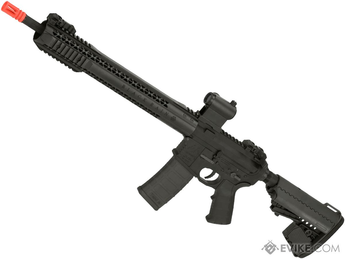 Black Rain Ordnance BRO M4 SPEC15 Airsoft AEG by King Arms (Color: Force / Black)