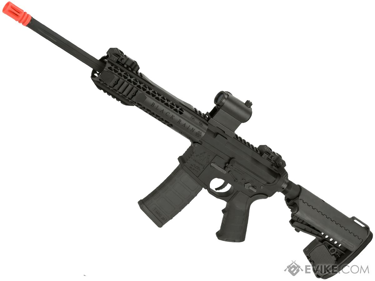 Black Rain Ordnance BRO M4 SPEC15 Airsoft AEG by King Arms (Color: Urban / Black)