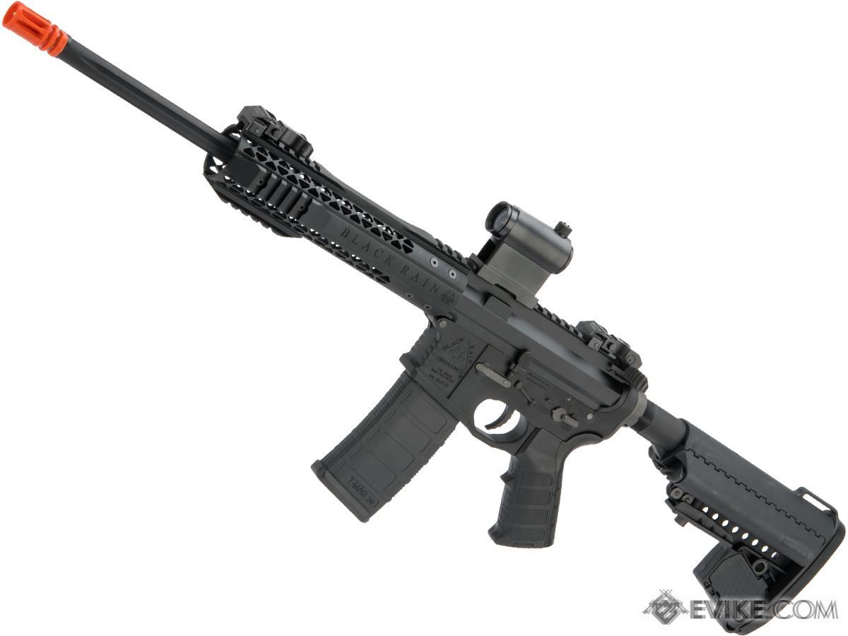 EMG Black Rain Ordnance BRO SPEC15 Licensed AR-15 Airsoft AEG Rifle (Color: Black / CQB)