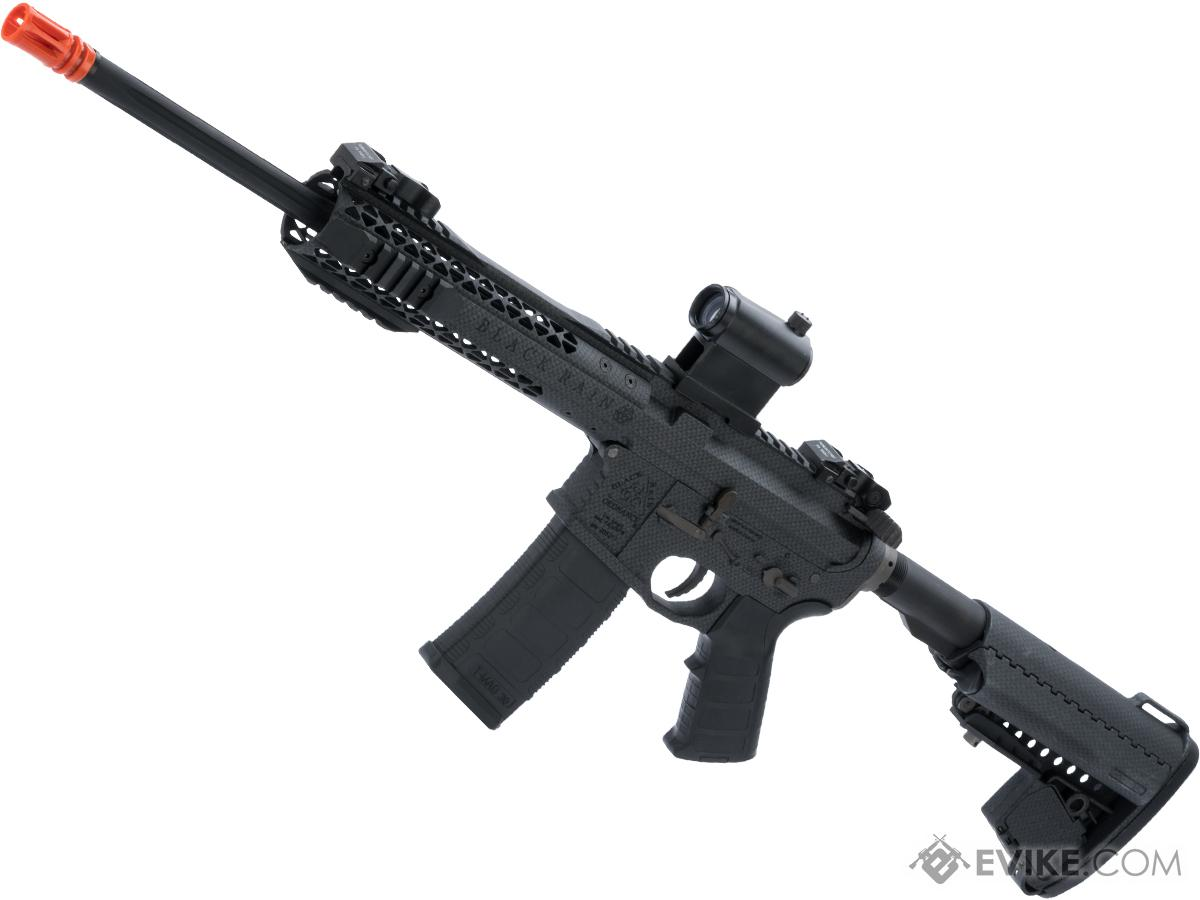 EMG Black Rain Ordnance BRO SPEC15 Licensed AR-15 Airsoft AEG Rifle (Color: Carbon Fiber / CQB)
