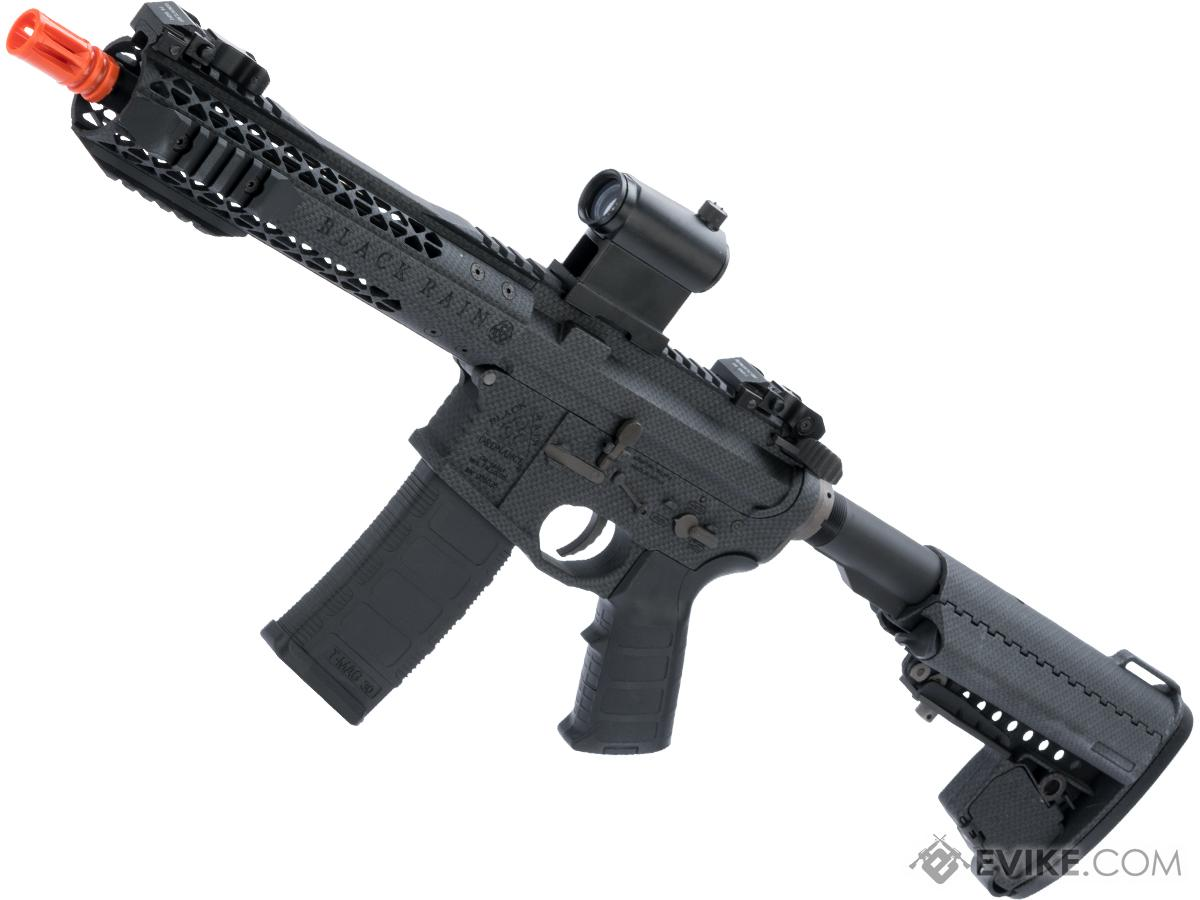 EMG Black Rain Ordnance BRO SPEC15 Licensed AR-15 Airsoft AEG Rifle (Color:  Carbon Fiber / Shorty)