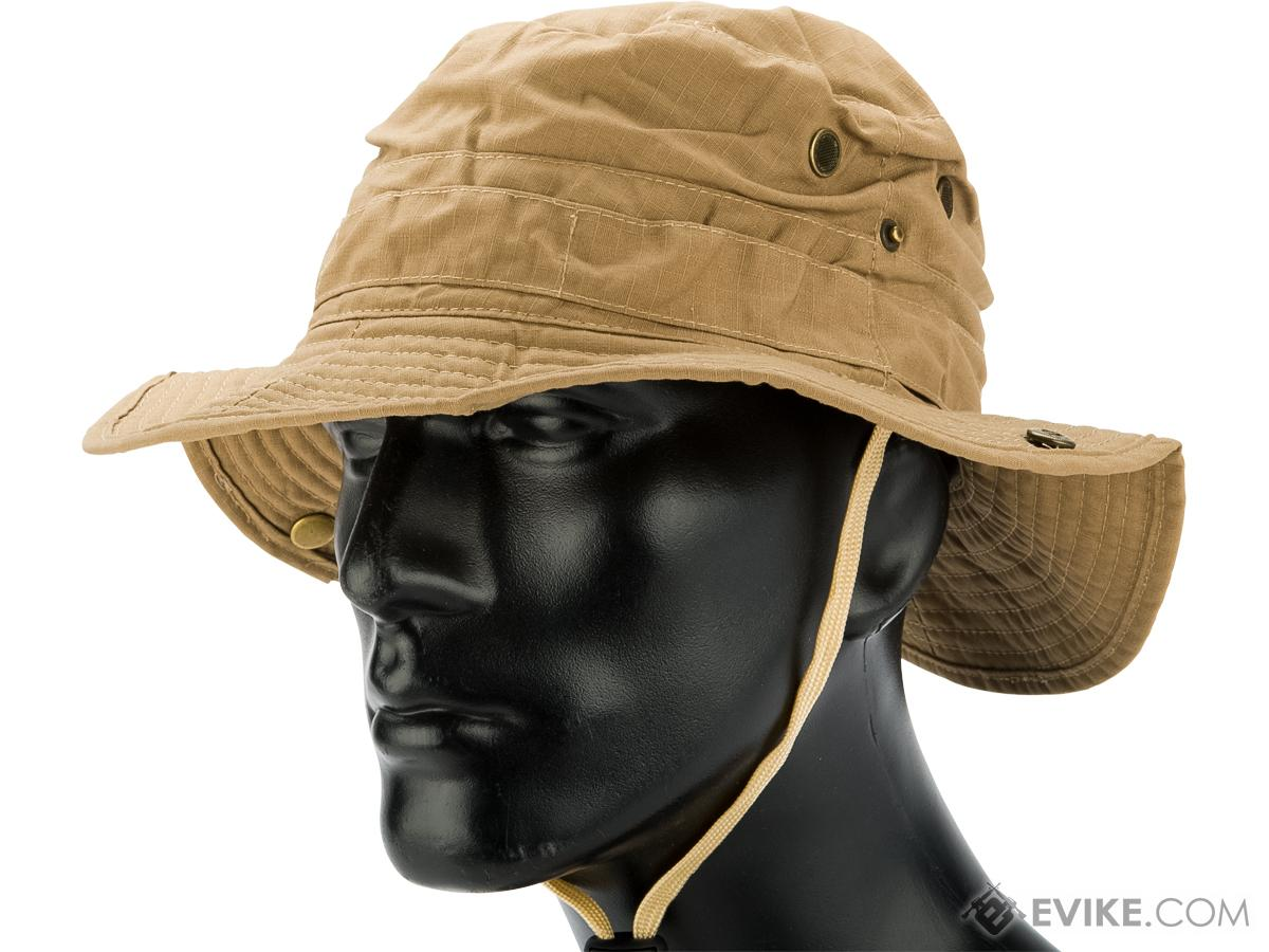 Matrix Lightweight RipStop Jungle Boonie Hat (Color: Khaki - Large)