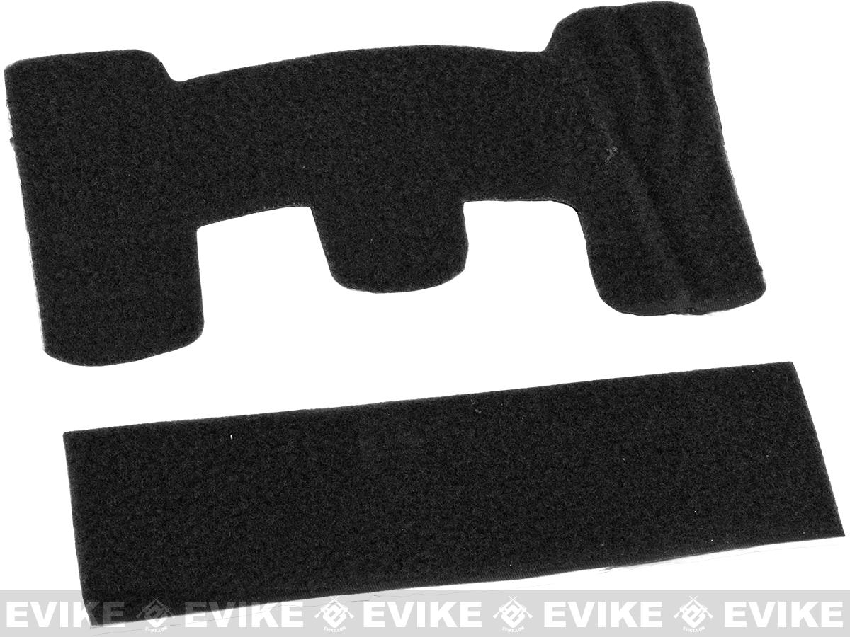 Matrix Loop Adhesive Strips for Tactical Helmets - Black
