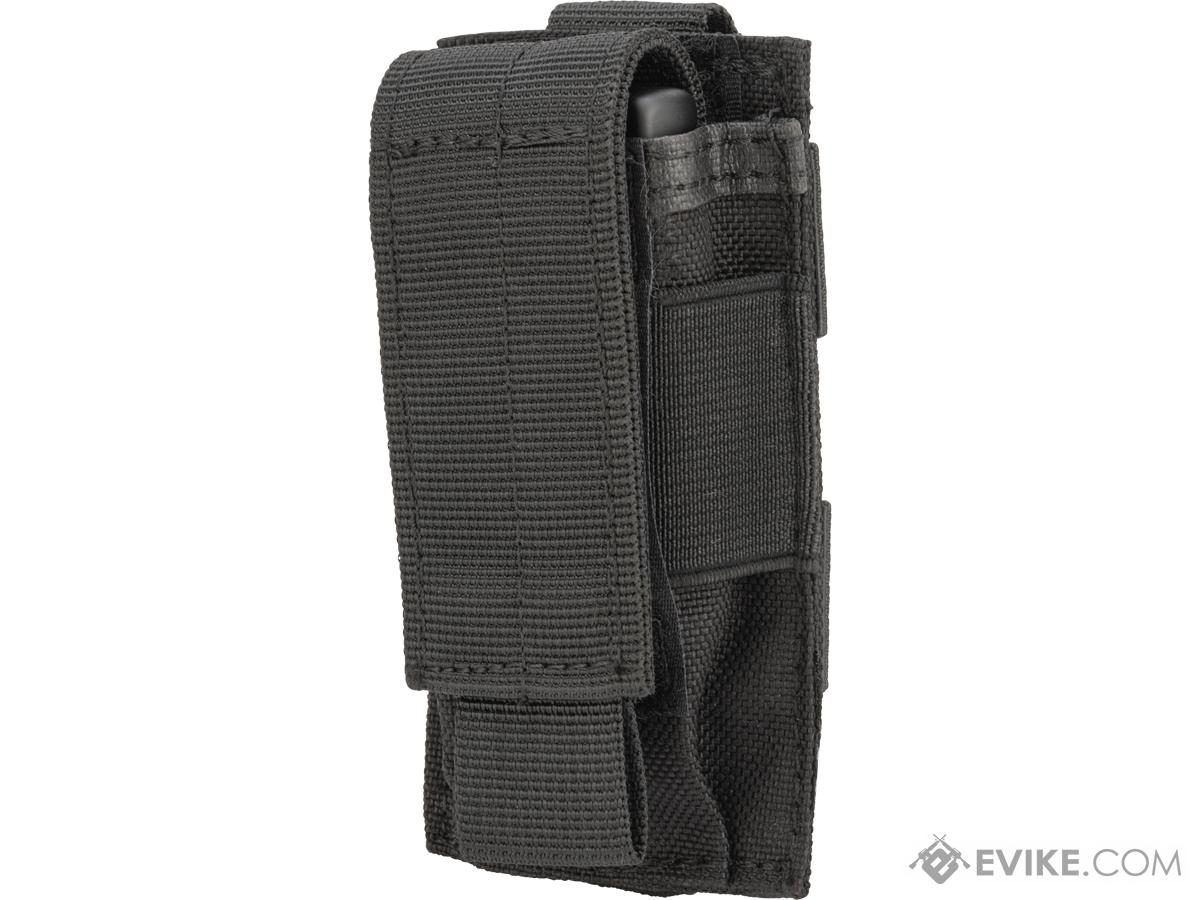 Matrix MOLLE Lighter Pouch (Color: Black)