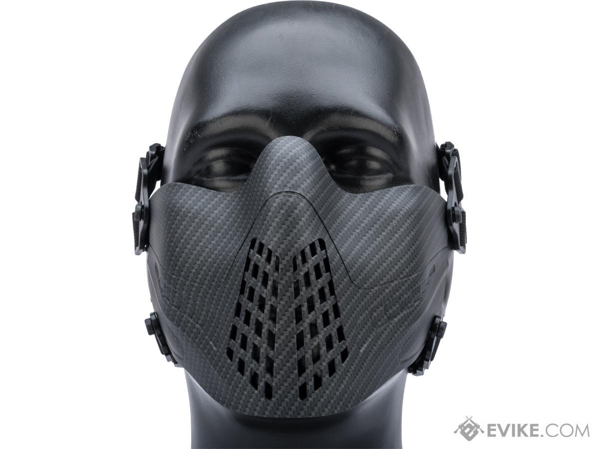 Matrix Pilot Half Mask (Color: Carbon Fiber)