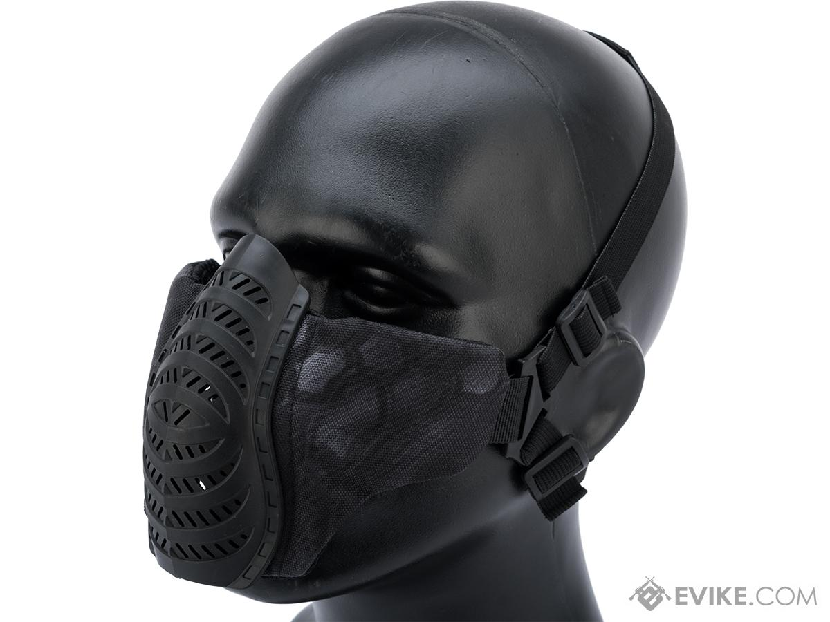 Matrix Low Profile Tactical Padded Lower Half Face Mask (Color: Typhon)